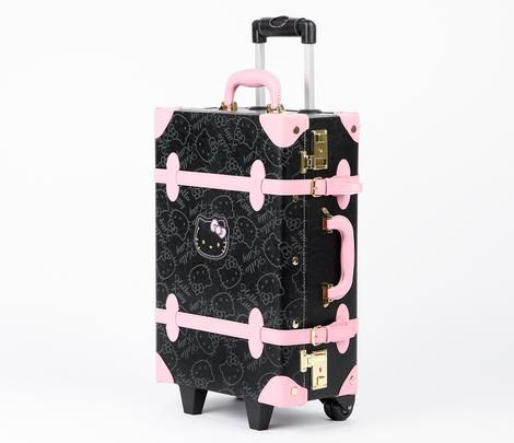 Hello Kitty Vintage Suitcase: Black