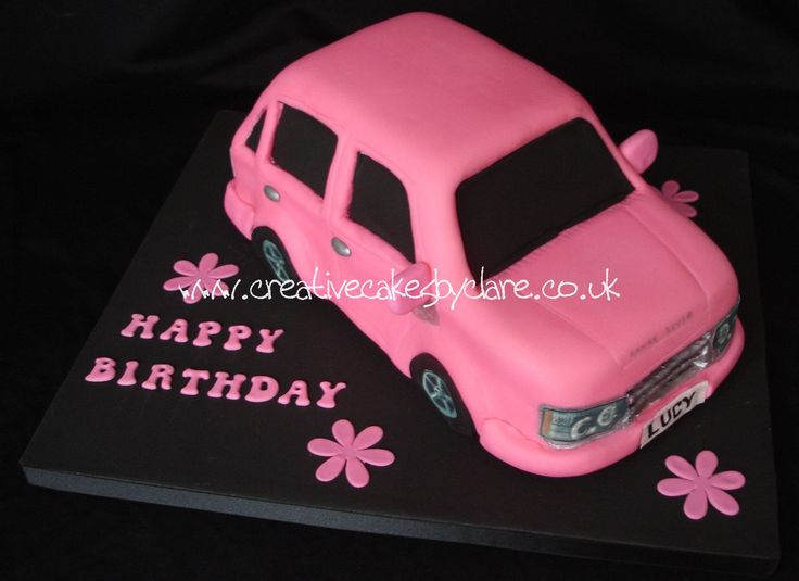19 Best Birthday Cake Ideas Images On Pinterest Car Cakes
