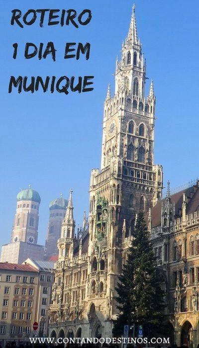 Roteiro de 1 dia em Munique Alemanha | Principais pontos turísticos em Munique | Atrações turísticas em Munique