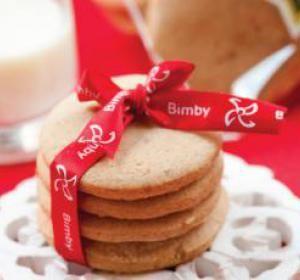 receita biscoitos de gengibre e canela - Bimby