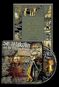 Sir Malcolm and the Missing Prince Package Book and CD – Lamplighter Publishing Online Store