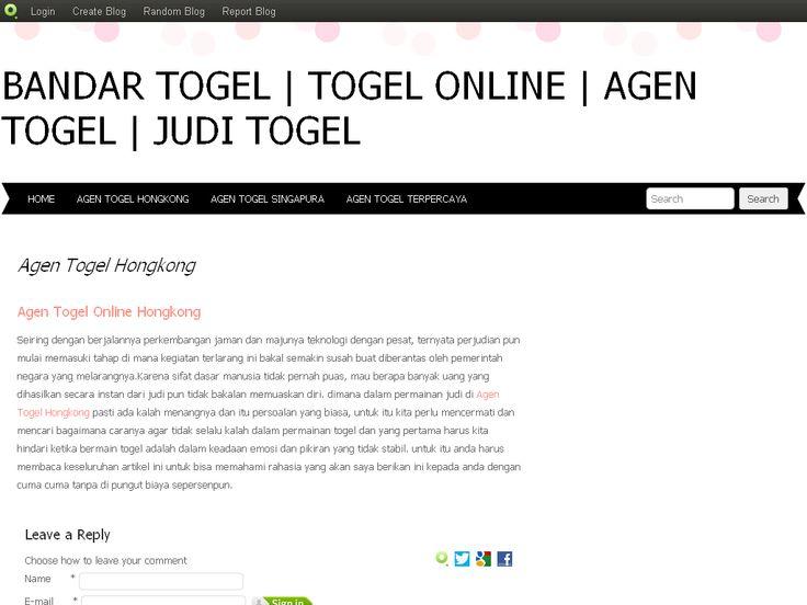 Agen Togel Hongkong | Bandar Togel | Togel Online | Agen Togel | Judi…
