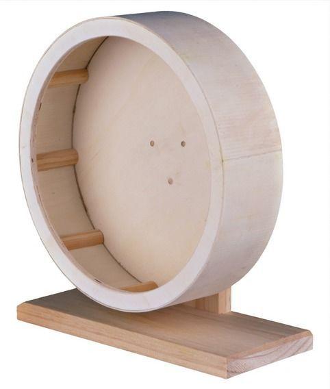 Dwarf Hamster Gerbil Degus Wooden Exercise Wheel Choice Of