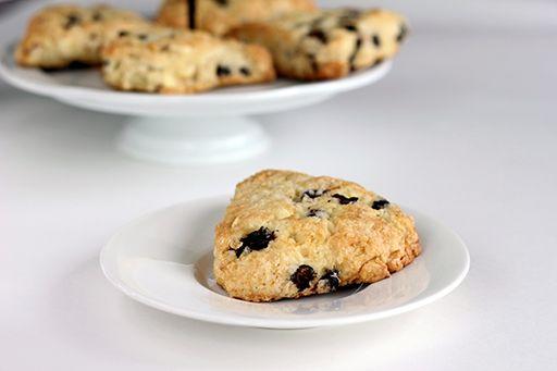 White Chocolate Saskatoon Berry (AKA serviceberries or juneberries) muffins recipe