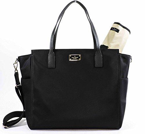 $170, Kate Spade Taden Baby Diaper Bag - Blake Avenue - WKRU3524 (Black) kate spade new york http://www.amazon.com/dp/B0169M0GSI/ref=cm_sw_r_pi_dp_mAHIwb01WG7G7