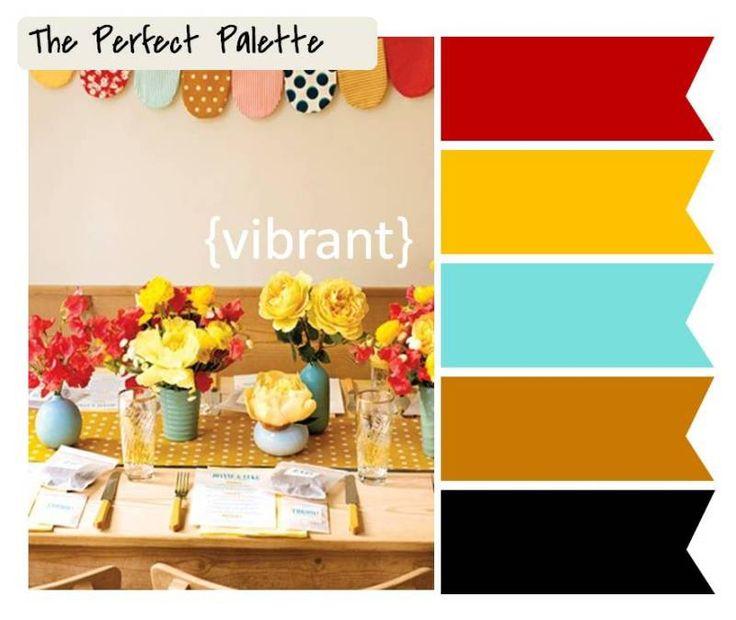 {The Perfect Palette}: I Love Vibrant Colors!