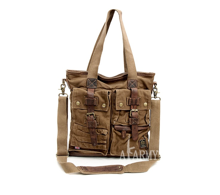 Belstaff Tote Bag 574 Military Green