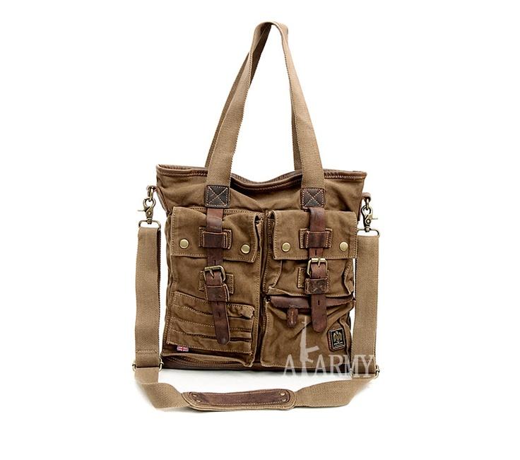 Belstaff Tote Bag 574 Military Green