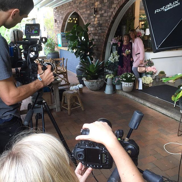 Behind the scenes photographing our Mothers Day Catalogue!