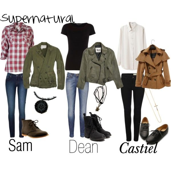 Supernatural outfits haha this is so me!!! Love this show