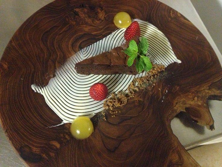 #Chocolate Torte from Camp Jabulani in South #Africa - http://safari.co.uk/cookbook/south-africa/chocolate-torte/