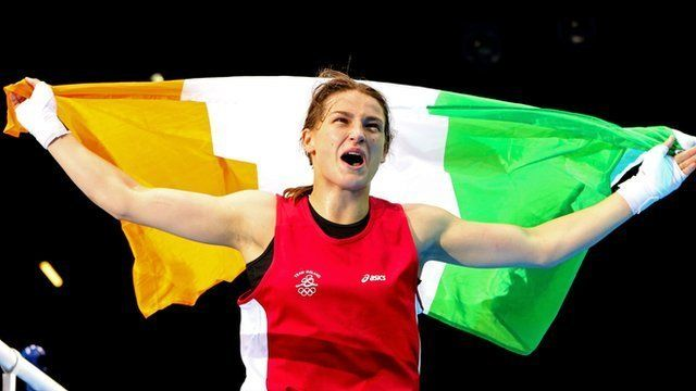 BBC Sport - Olympics boxing: Katie Taylor wins Ireland's first gold medal
