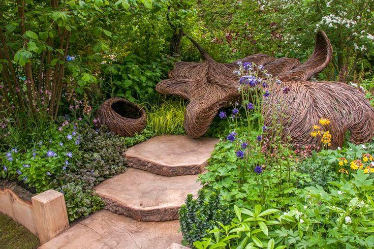 Gold medal winner - the Breast Cancer haven artisan garden #BreastCancerHavenGarden