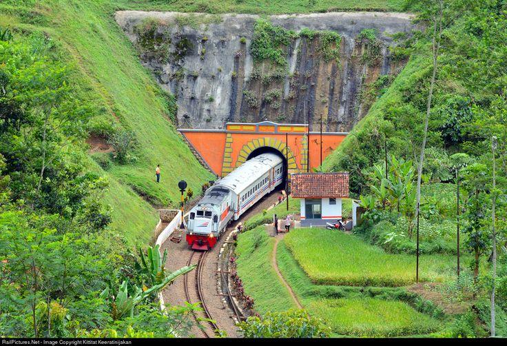 RailPictures.Net Photo: CC 201 83 17 PT Kereta Api Indonesia GE U18C at West Java, Indonesia by Kittitat Keeratinijakan