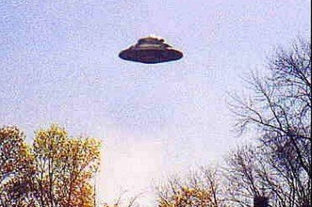 UFOs are buzzing the skies above Hinckley