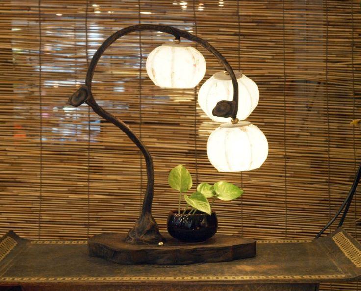 #Korea #Antique #LivingRoom #BedRoom #Interior #Design #Decor #PaperLantern #Stand #Lamp #Fruit #DURICRAFT