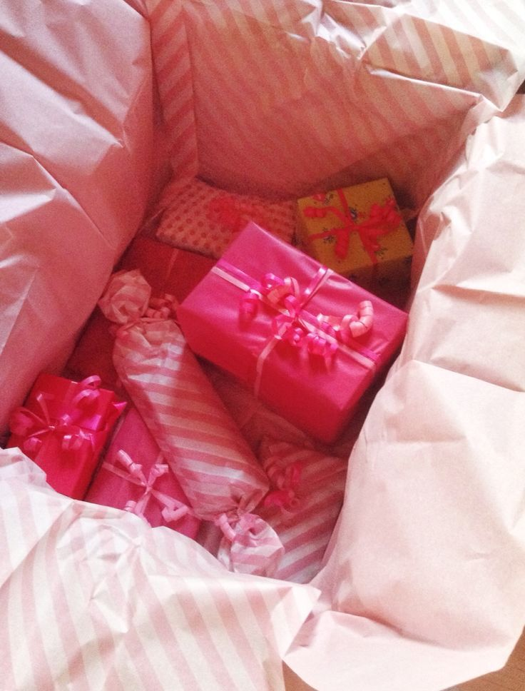 Gift For My Best Friends 16th Birthday Great Idea Those Girly Girls Pink Wrapping Silk Paperprincess Worthy Presentbirthdaypresent