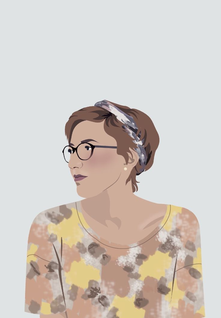 Illustration of myself | Photoshop.   #portrait #illustration #photoshop