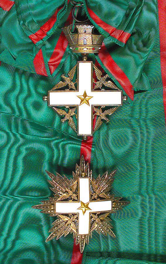 Order of Merit of the Italian Republic (1st type) – Knight Grand Cross set of Insignia
