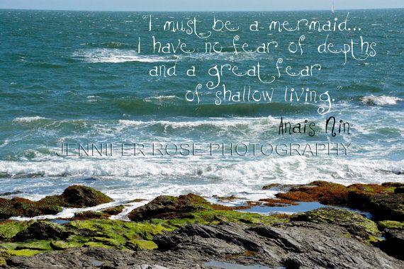 Mermaid Ocean Quotes. QuotesGram