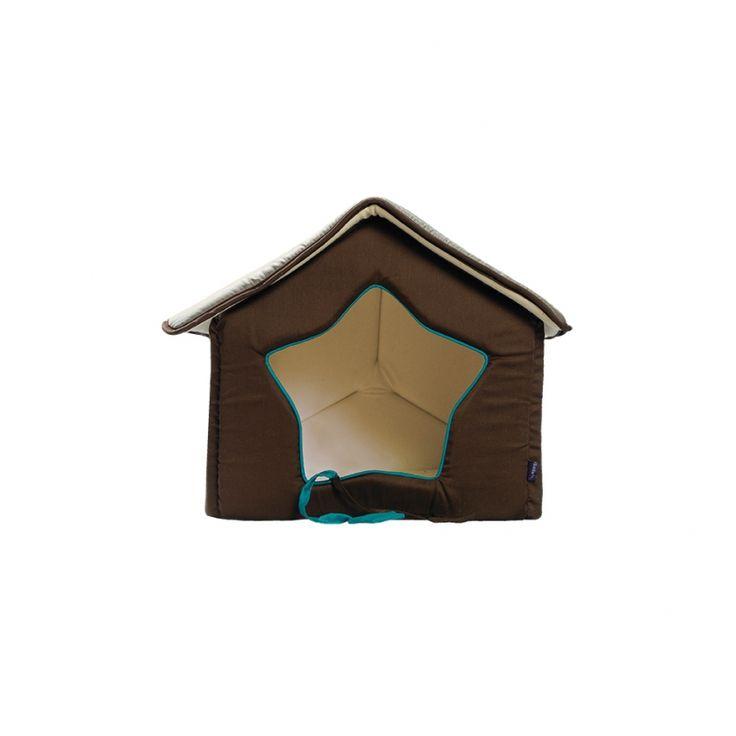 #casita LUNA para perro pequeño con puerta en forma de estrella. Descubrela aqui: http://bit.ly/1SLl2e8