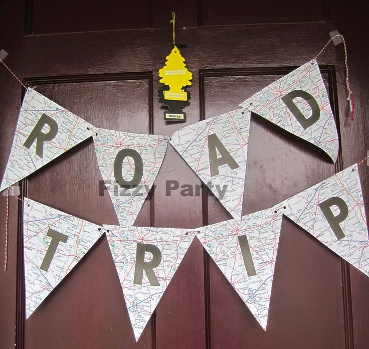 Road Trip Birthday Party by Fizzy Party- such a creative theme!