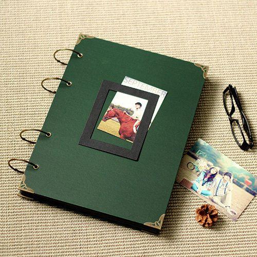 Extra Large Scrapbook Photo Album  Wedding by LisandreCrafts