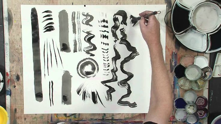 How to Make Your Own Strokes in Sumi-E Painting