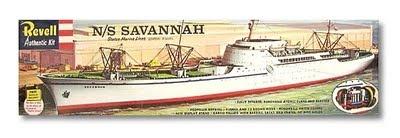 Ship's model of the NS Savannah.