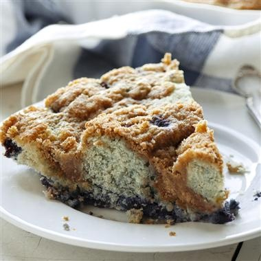 Blueberry Coffee Cake This coffee cake, bursting with blueberries, is ...