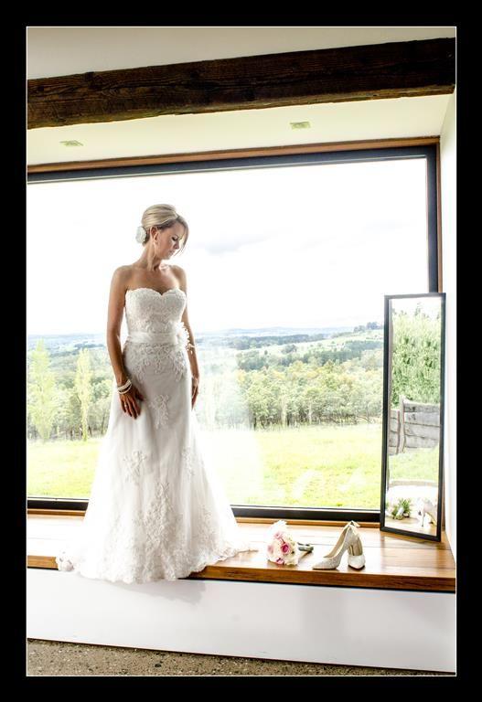 Candid Photos of a Lifetime - Big window... stunning & beautiful bride   Borrodell Vineyard, Orange www.candidphotosofalifetime.com.au