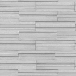 Fine Decor Slate Tile Effect Wallpaper - Pale Grey FD40127  This striking Slate Tile Effect Wallpaper will make a great feature in any room including kitchens and bathrooms. The design features a realistic slate tiles print in a pale grey with a textured finish and shading for added depth. It is printed on to luxury cushioned vinyl paper to ensure durability and a quality finish and will look great when used to decorate a whole room or to create a feature wall. A realistic slate tiles design…