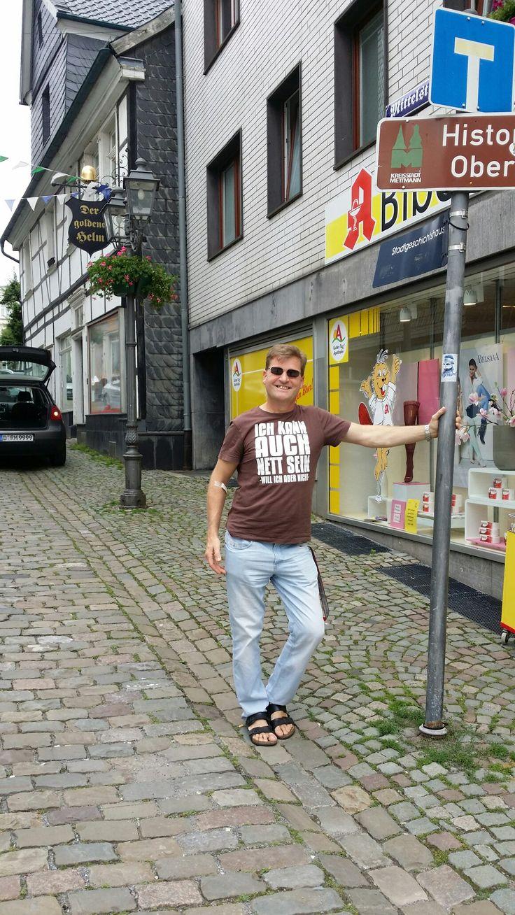 june the 20th, my friend Herr Jörg Deibert was my tourist guide in Mettmann...