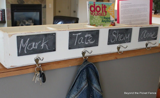 Beyond The Picket Fence: From DVD Storage to Storage Coat Hook