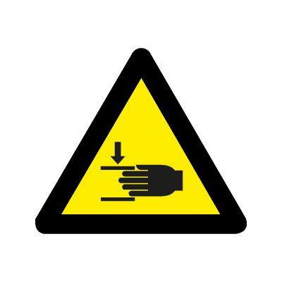 Fare for kvæstelse af hånd - Køb Advarselsskilte nu