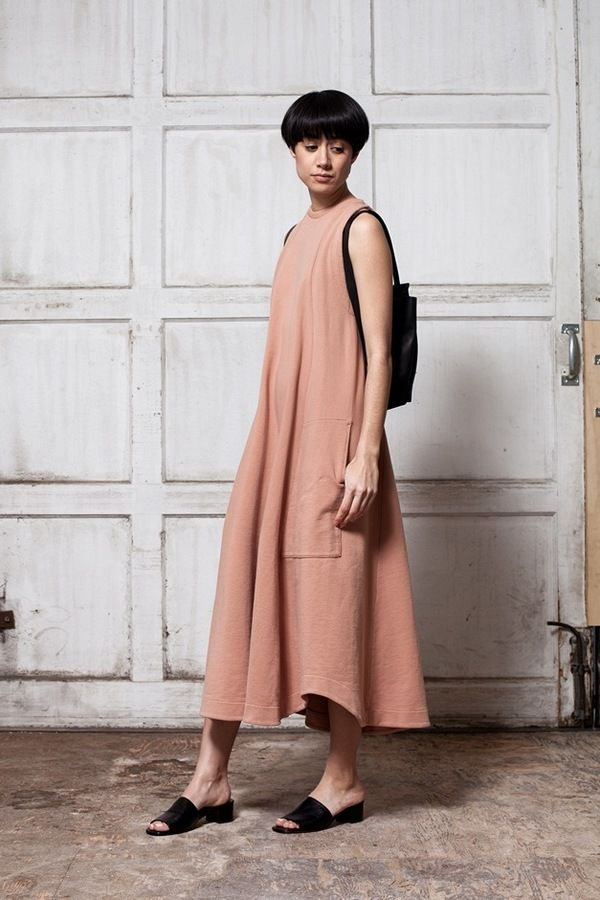 Mr. Larkin Louie Dress - suntan