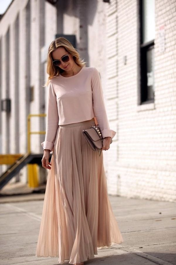 25 Beautiful Examples Of Tone On Tone Fashion Outfits
