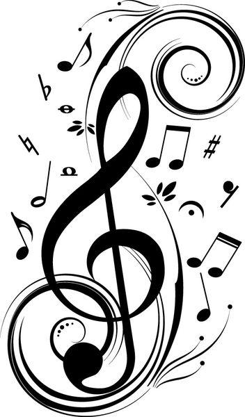 Väggdekor - Musik nu 159 kr