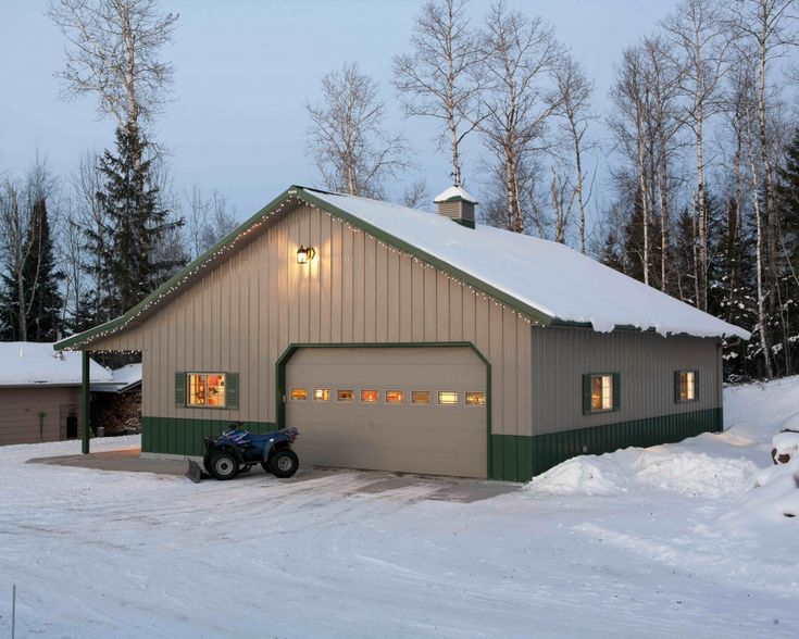 56 best images about new barn on pinterest for Build office in garage