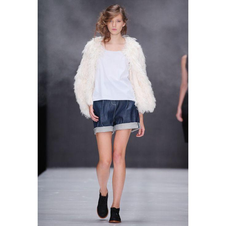 Yulia Nikolaeva. #casual #look #style #Vogue #VogueRussia #readytowear #rtw #springsummer2017 #YuliaNikolaeva #VogueCollections