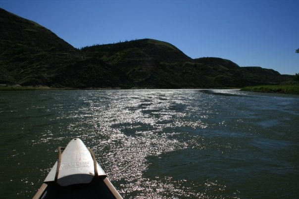 Red Deer river, day one on a three day trip