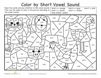 Reading Coloring Worksheets