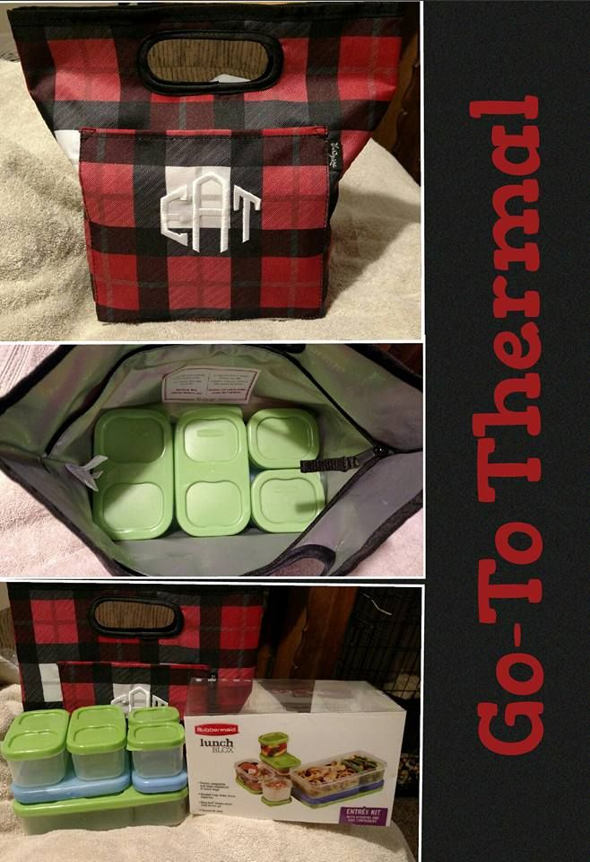 Lunch thermal, washable, fits several containers. see more at www.bonniekschulz.com