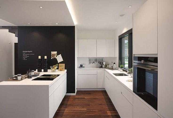 Kücheninsel ideen ~ Design küche modern mit kochinsel ideen einrichtung skulpturales
