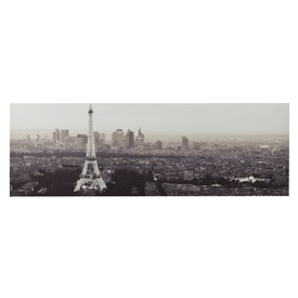 Paris Night Scene Printed Canvas  #grey #dunelm