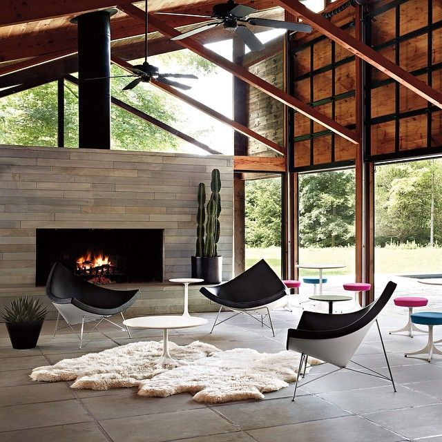Originally Introduced By Herman Miller In The Nelson Coconut Chair Changed Landscape For American Furniture Offering Supreme Comfort And