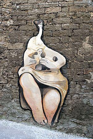 Sardinian street mural