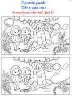 Estudo para Células de Crianças - Adão e Eva Tema: Adão e Eva 1- Recepção / Bate-papo: (Receba as crianças, cumpriment...