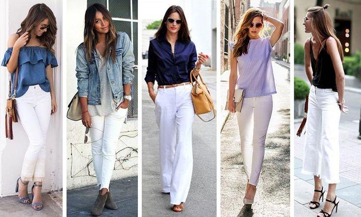 How to: hoe stijl je de witte broek?