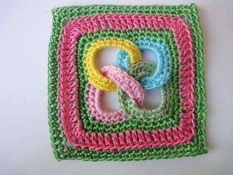 Crochet Square Motif With Rings – Page 2 – CRAFT-ADDICTS